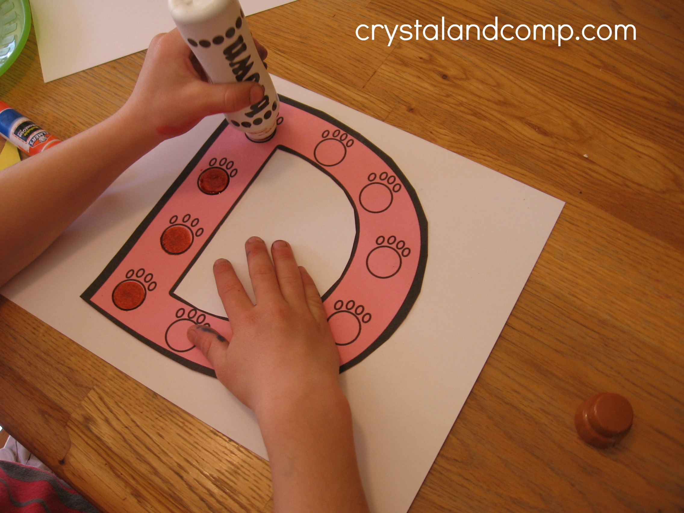 Letter Of The Week D Is For Doghouse Preschool Craft