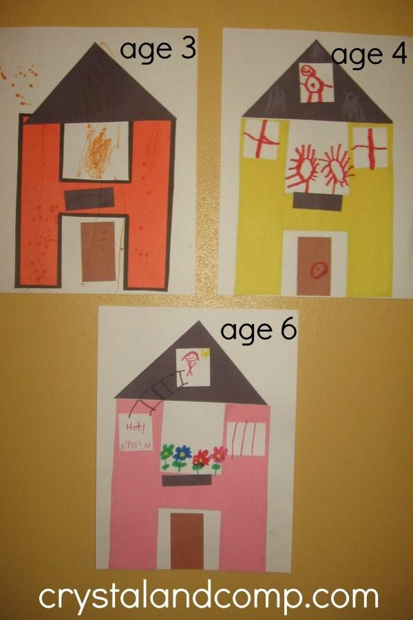 Preschool Crafts Letter H Activities
