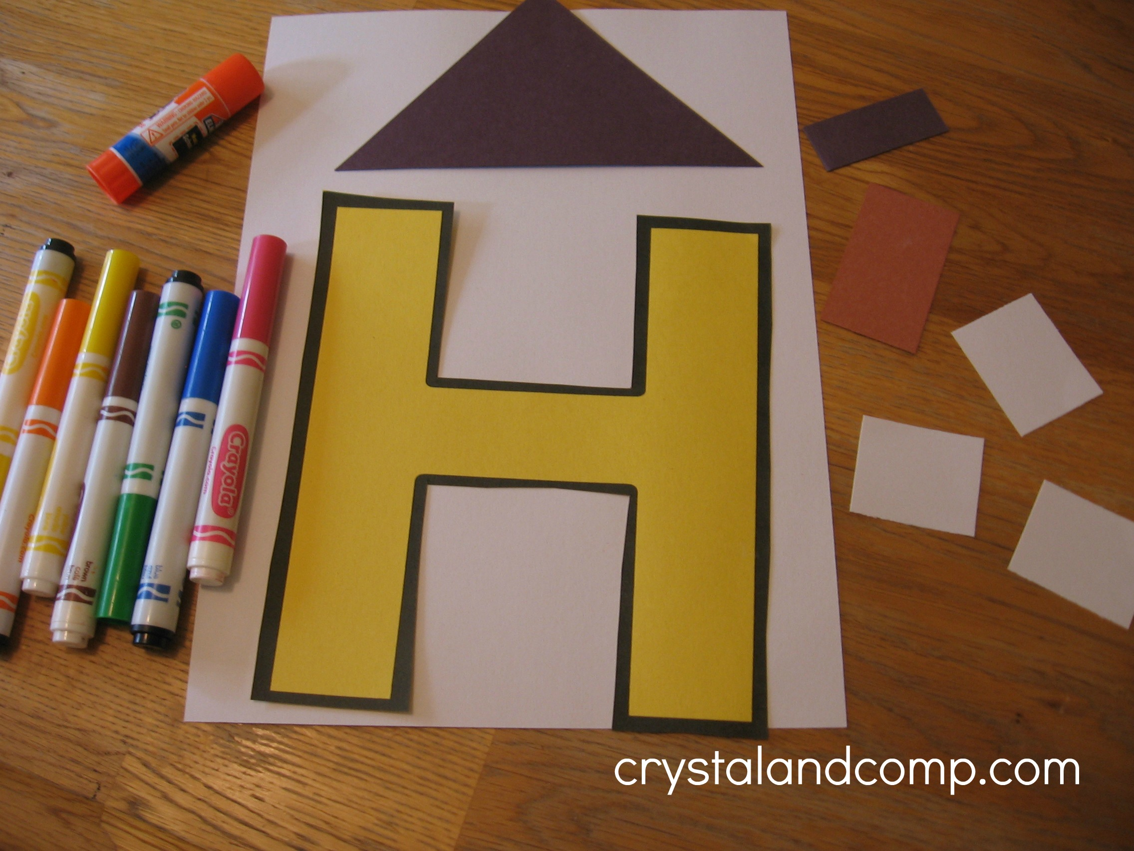 Letter Of The Week H Alphabet Activities For Preschoolers