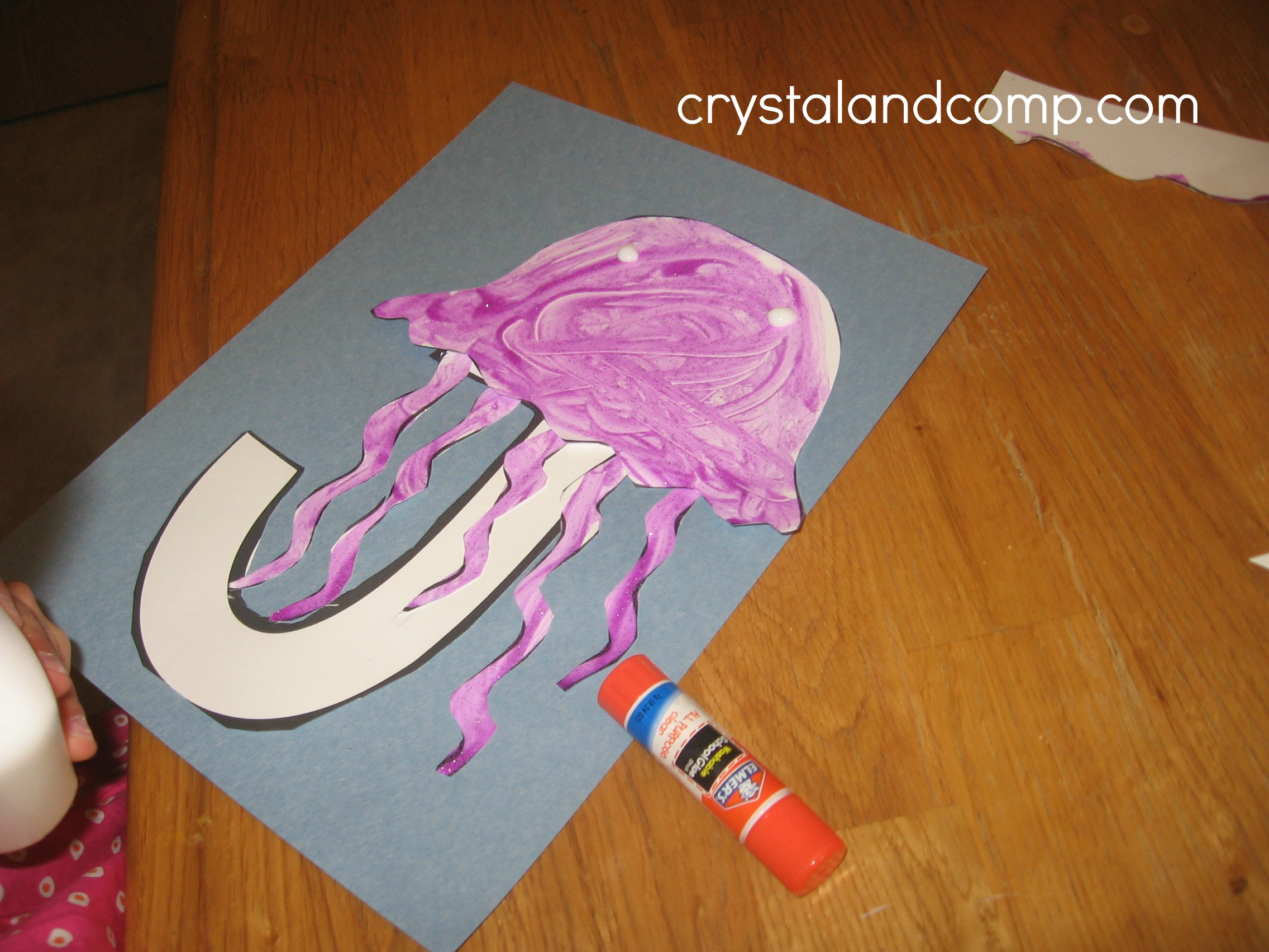 Alphabet Activities For Preschoolers J Is For Jelly Fish