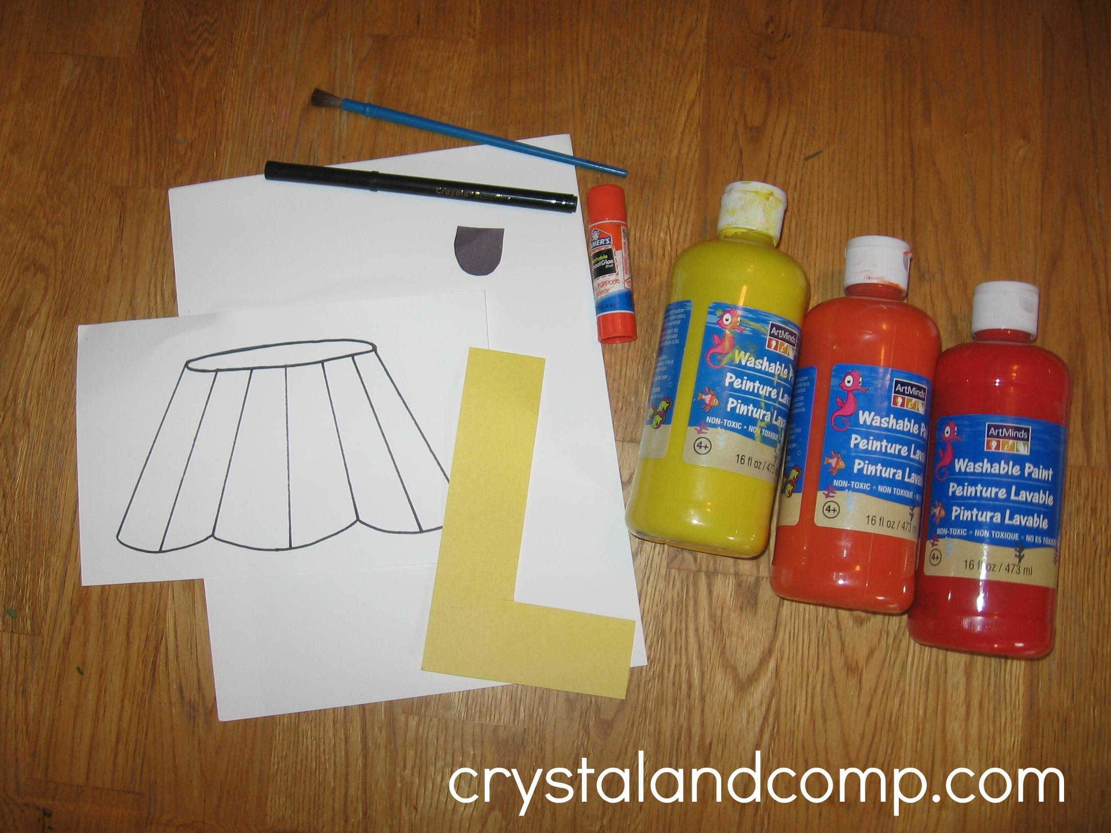 Letter L Art Activities For Preschool