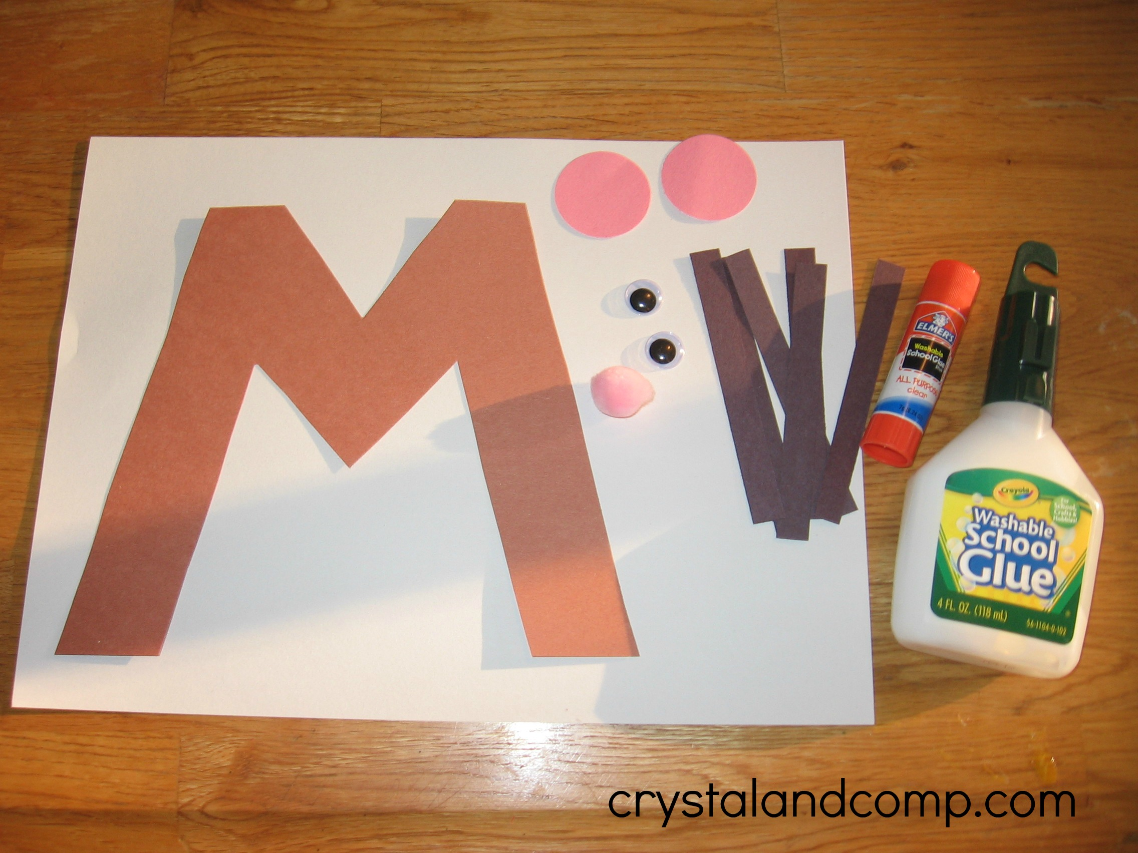 Alphabet Activities For Preschoolers M Is For Mouse