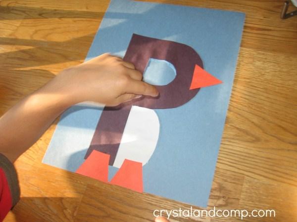 Letter P Art Activities for Preschool