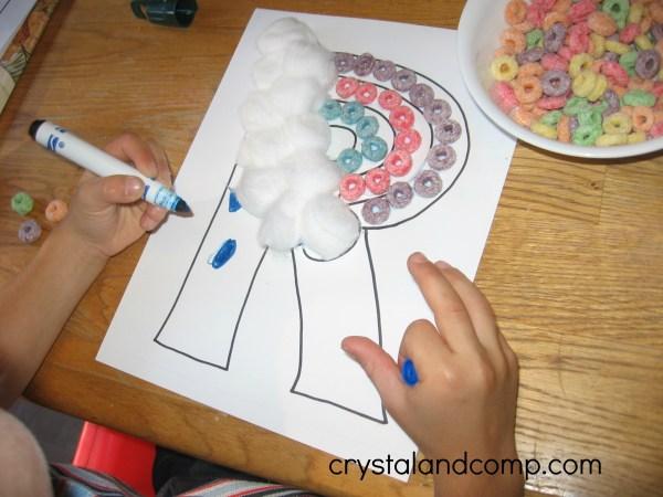 Letter R Preschool Craft