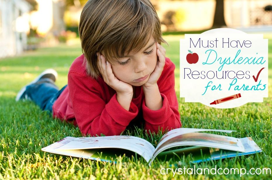 dyslexia resources for parents