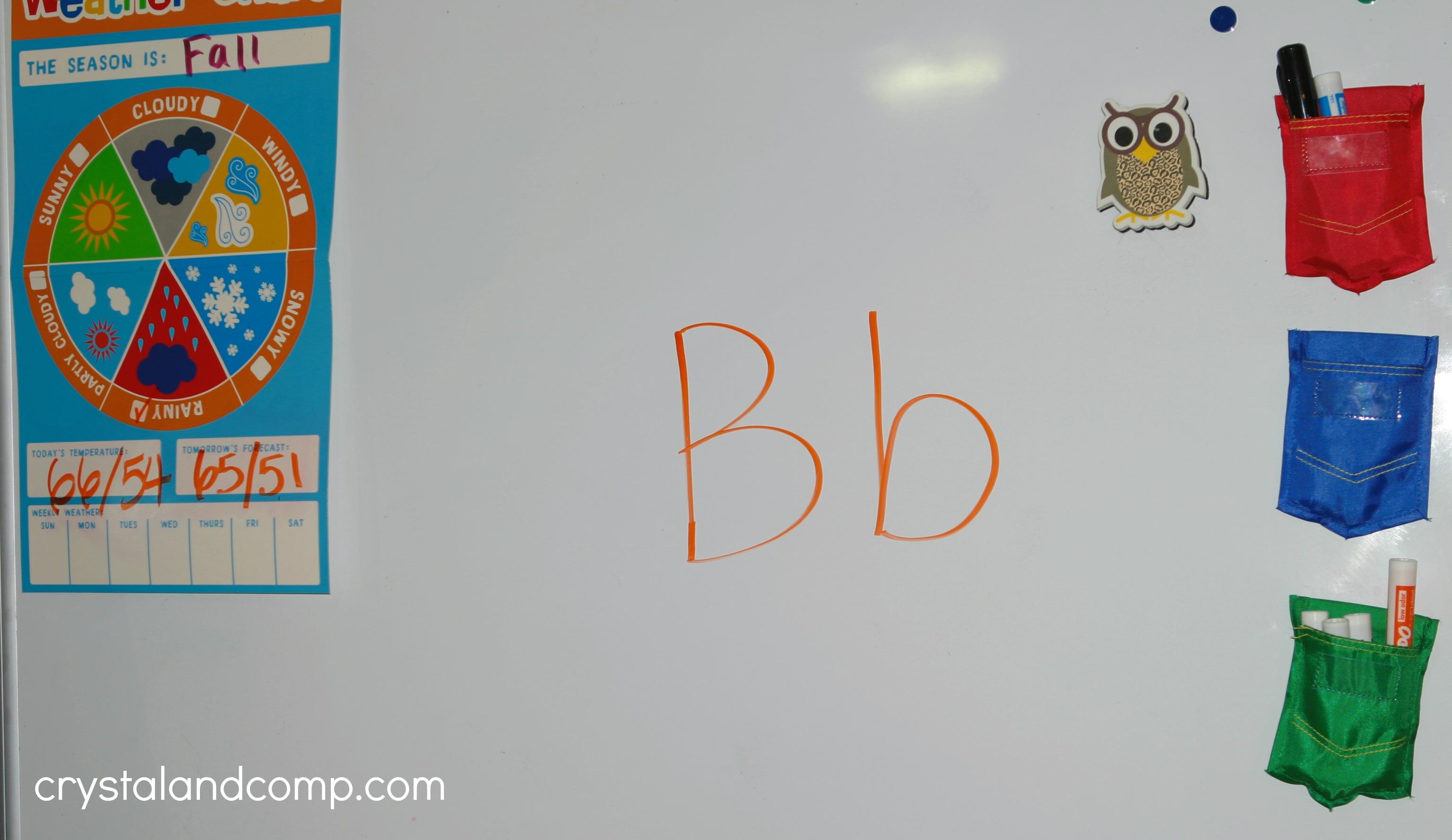 Preschool Letter Worksheet For B