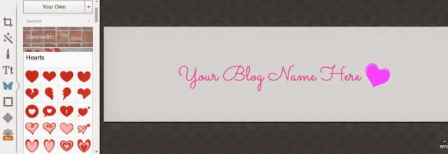 How to create and add header to your blog