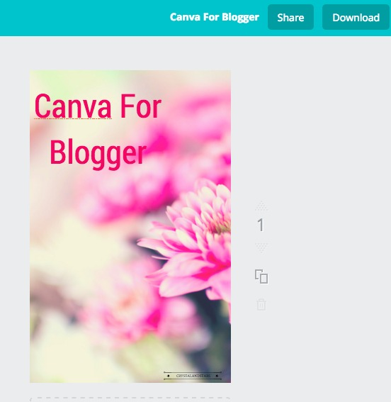 Canava for Blogger
