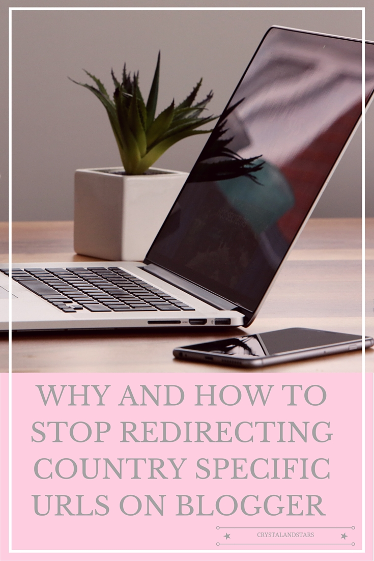 WHY AND HOW TO STOP REDIRECTING COUNTRY SPECIFIC URLS ON BLOGGER