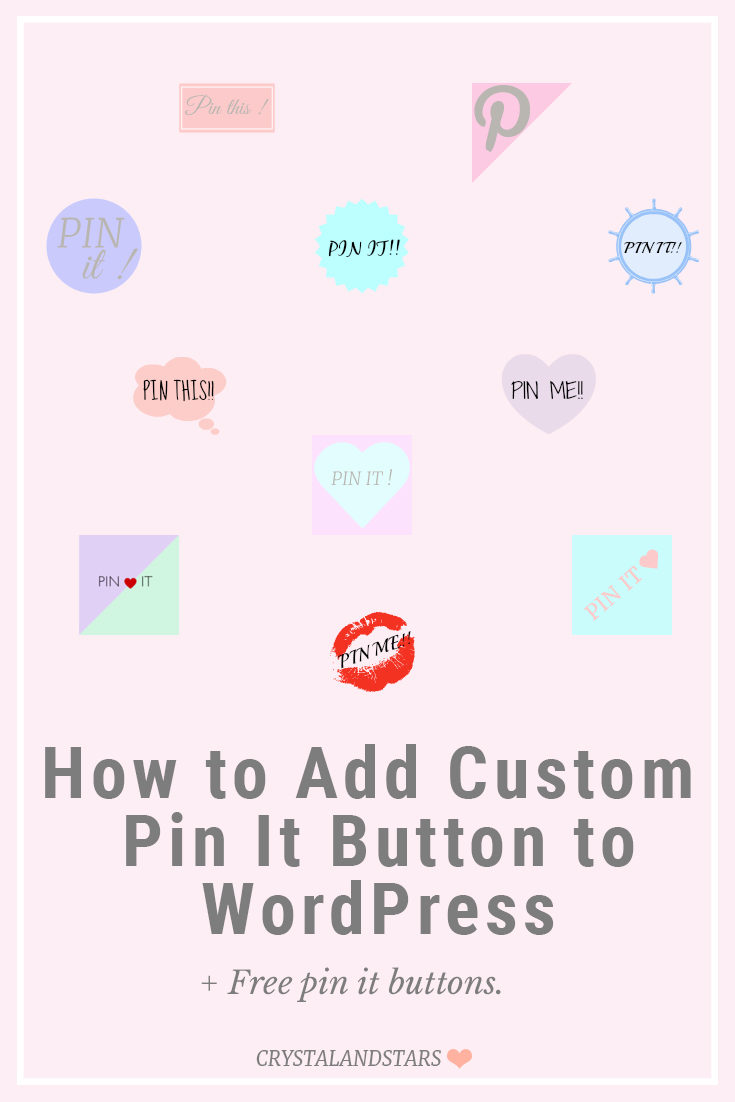 How to add pin it button
