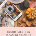 fall color palettes