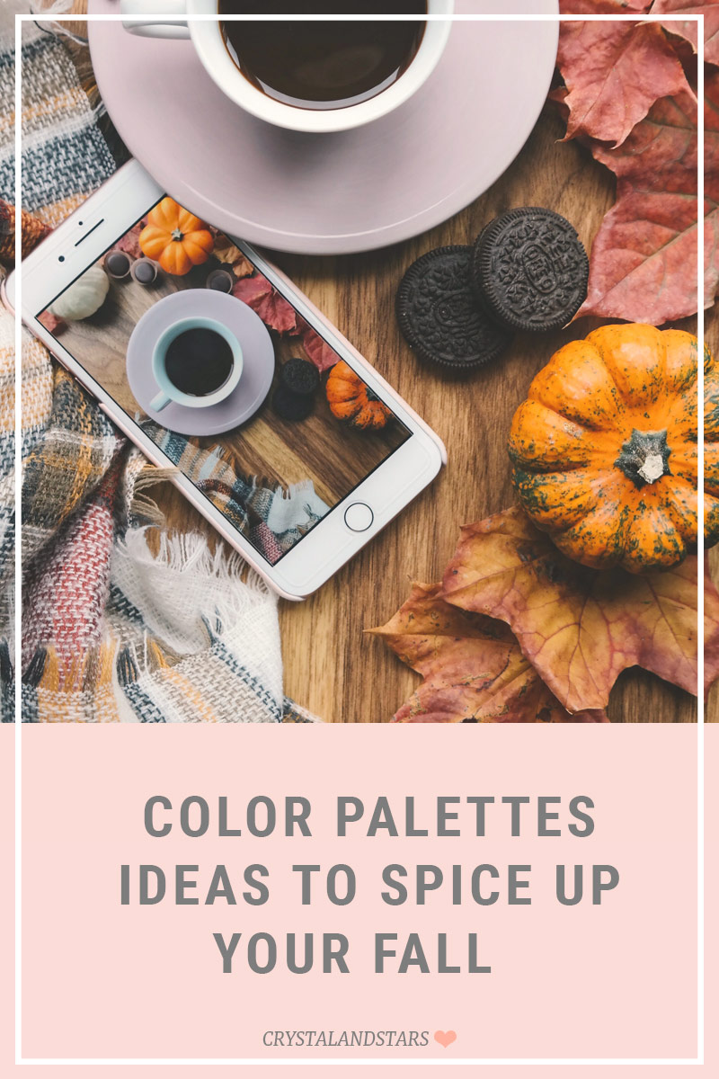 6 FRESH FALL COLOR PALETTES