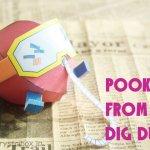 パックマンなどの人気ゲームキャラクターのペーパークラフトを無料ダウンロードのチャンス!