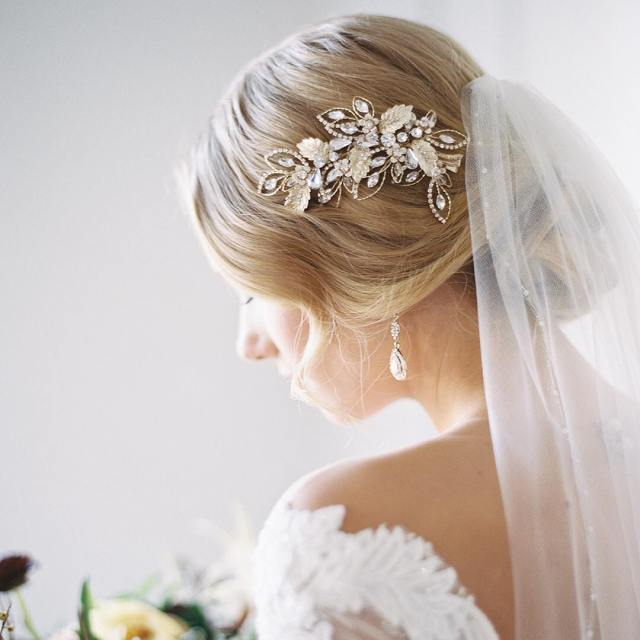 wedding dress accessories | the crystal bride