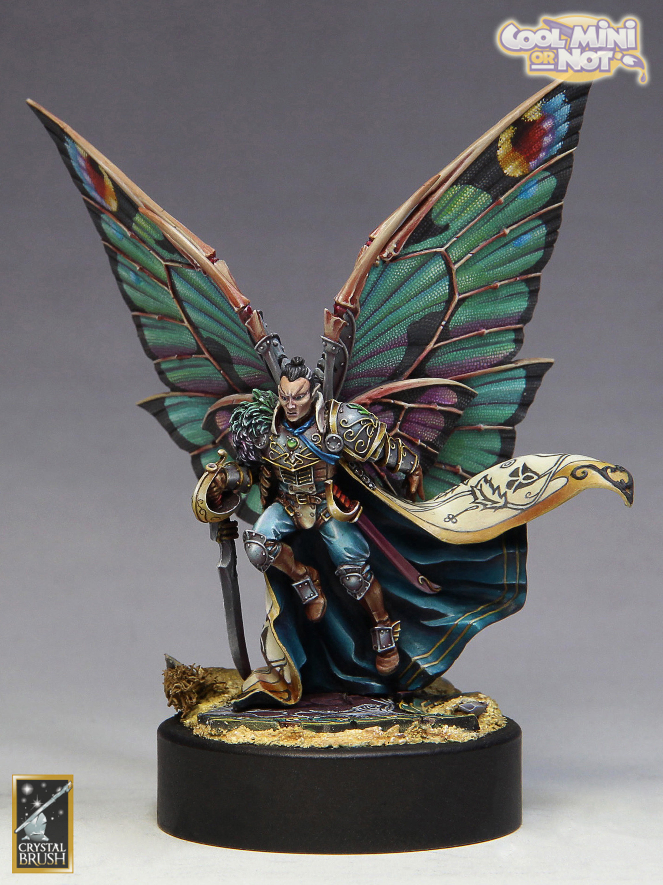 Fantasy & Steampunk Single Figure Crystal Brush