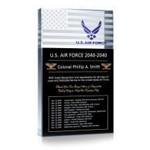 Air Force Service Retirement - Wording Sample