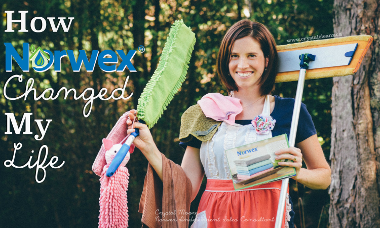 How Norwex Turned My Life Upside Down