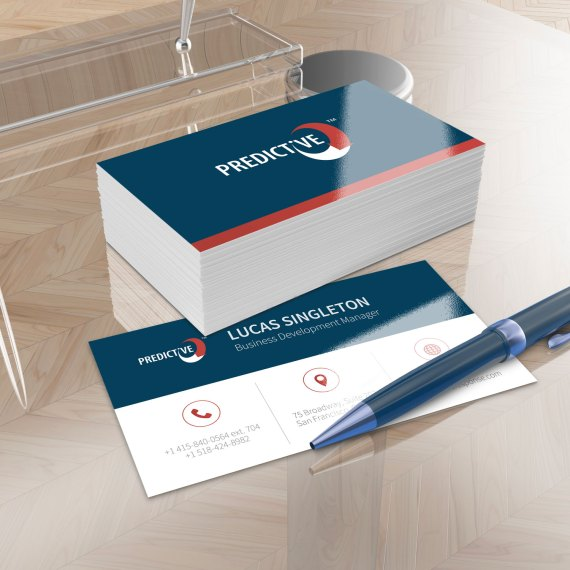 Predictive Response Business Card Design