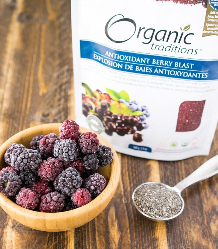 Antioxidant Berry Blast Protein Smoothie