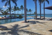 Main pool at Four Seasons, Mauritius