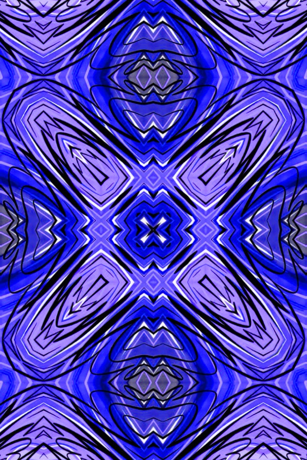 Blue Kaleidoscope 141004 by Mark Bray IMG_0534