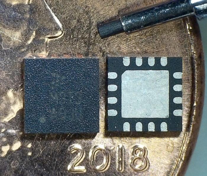 Crystalfontz 16-pin CSP