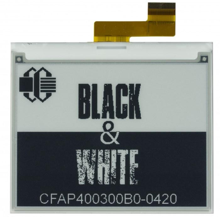 Crystalfontz CFAP400300B00420 ePaper Display