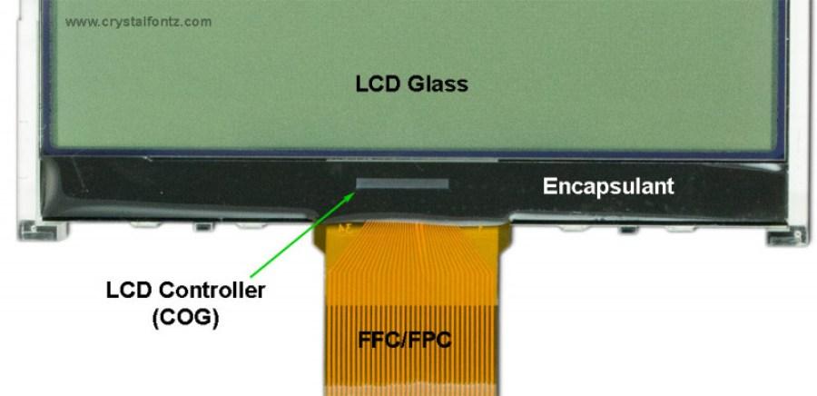 COG Construction LCD Module - www.crystalfontz.com