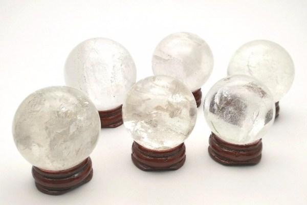 Kristallkula bergkristall