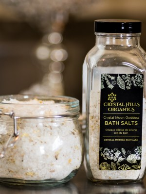 Crystal Moon Goddess Bath Salts