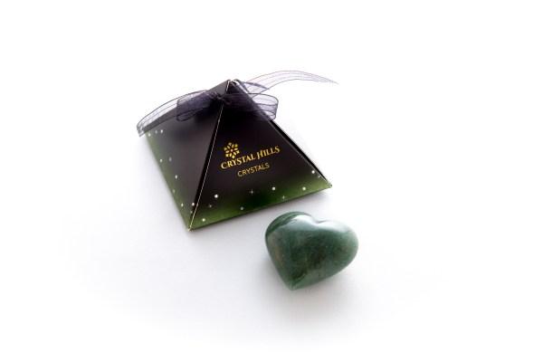 Crystal Aventurine Heart