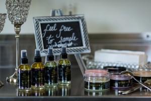sugar scrubs and body oil, Crystal Hills Organics