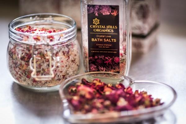 Crystal Love Bath Salts