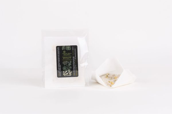 Crystal Moon Goddess Bath Salt Tea Bag