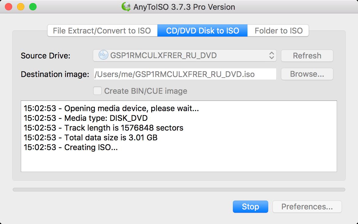 AnyToISO for Mac 3.9.6 破解版 - 强大的ISO镜像制作工具