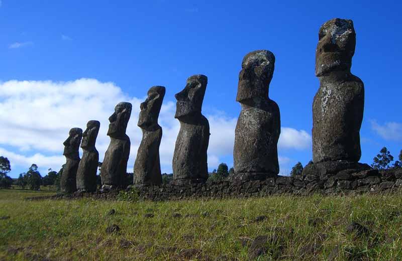 The Sentinels of Summer 2012 Stonehenge Moai The Watchers