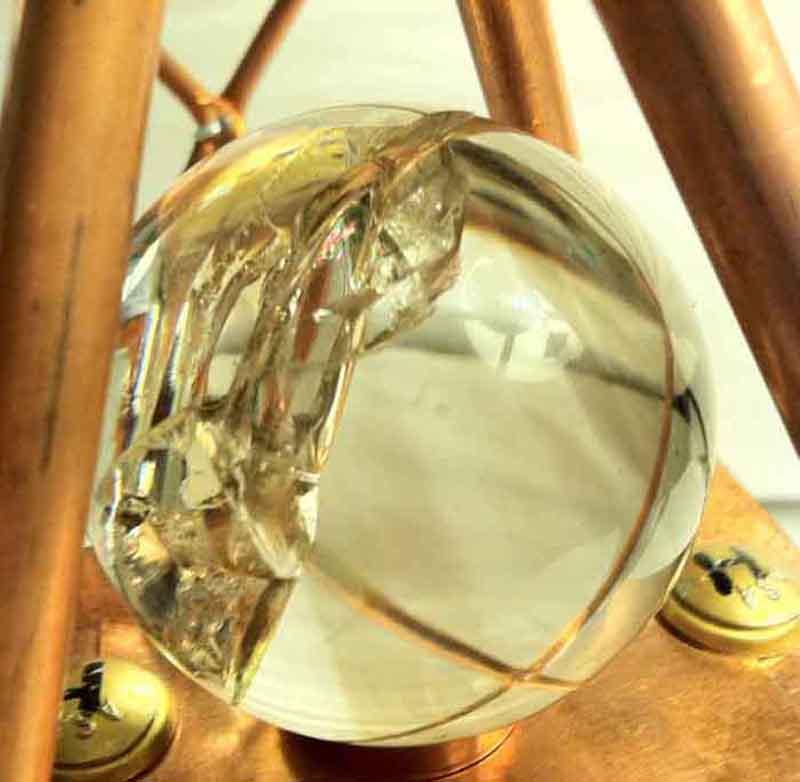 Atlantean Crystal Sphere Atlantis Pyramids Ray Brown Cayce