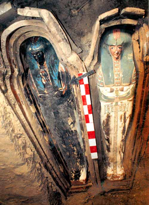 Dozens of Mummies Found in Rock Tombs National Geographic