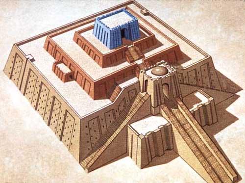 Resultado de imagen de MESOPOTAMIAN TEMPLES OR ZIGGURATS