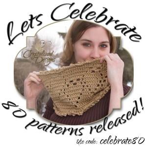 Let's Celebrate 80 Patterns Released!