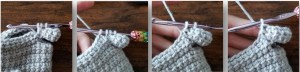 Thumb Linked Double Crochet Mitten Pattern