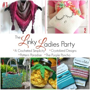 Crochet Link Up Party