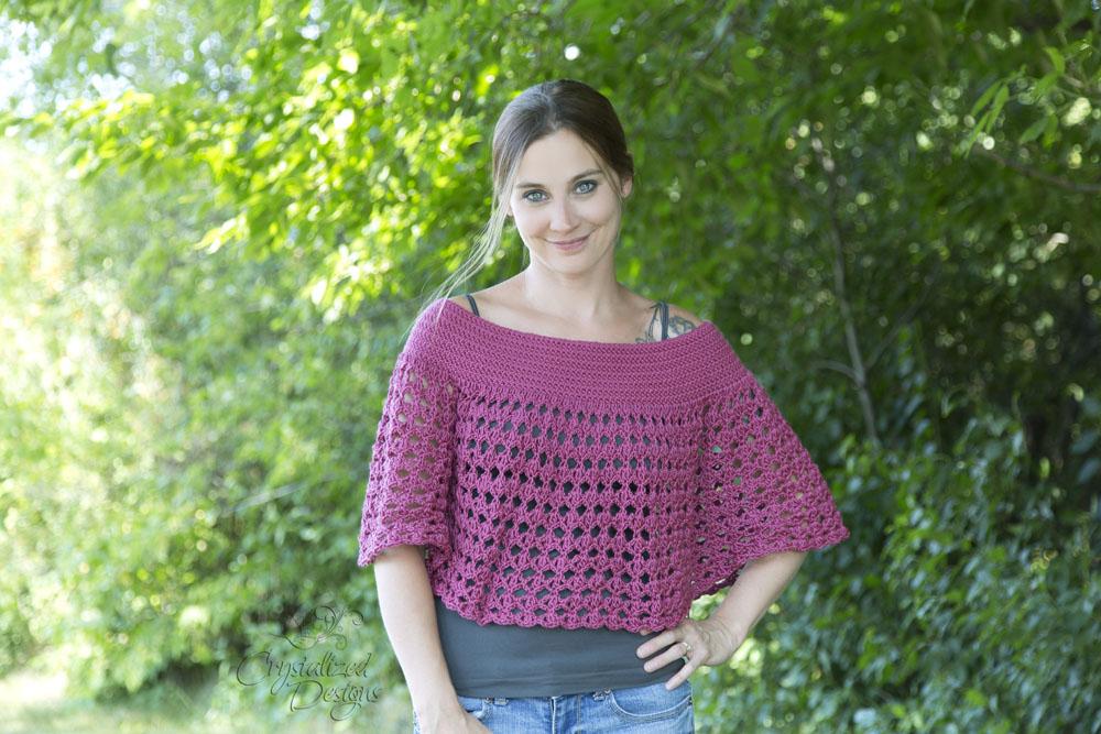 Kaimana Ponchette Crochet Pattern