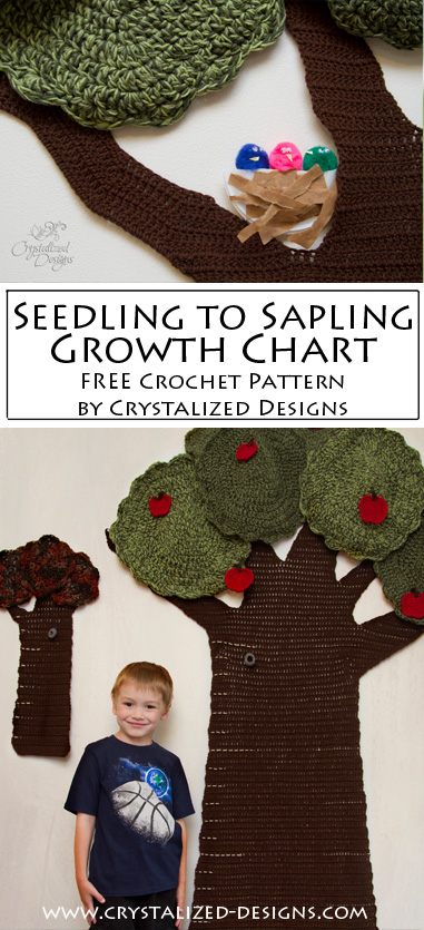 Seedling to Sapling Growth Chart by Crystalized Designs