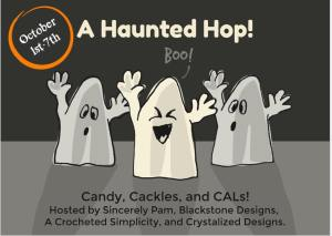 Haunted Blog Hop CAL