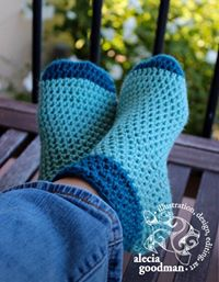 Candy Corn Socks Free Crochet Pattern by Crystalized Designs