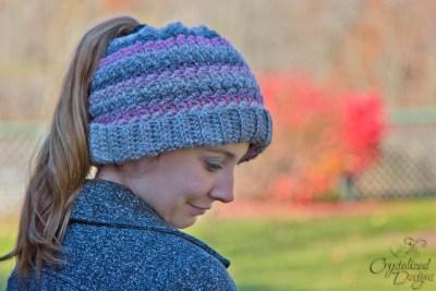 Verity Beanie, Slouch, or Messy Bun Free Crochet Pattern