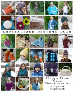 Crystalized Designs 2018 Year in Review