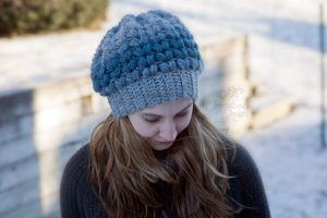 Amora Slouch Hat Free Crochet Pattern by Crystalized Designs