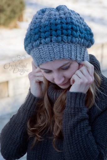Slouch Beanie Crochet Pattern